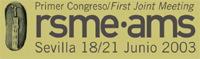 Logo RSME-AMS 2003